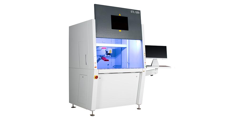 Laserbearbeitung mit dem ETL 1200 von EVOTECH