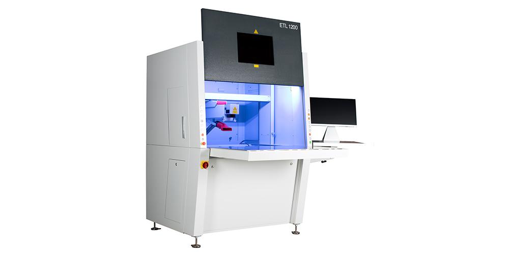Lasergravursystem als Steharbeitsplatz ETL 1200