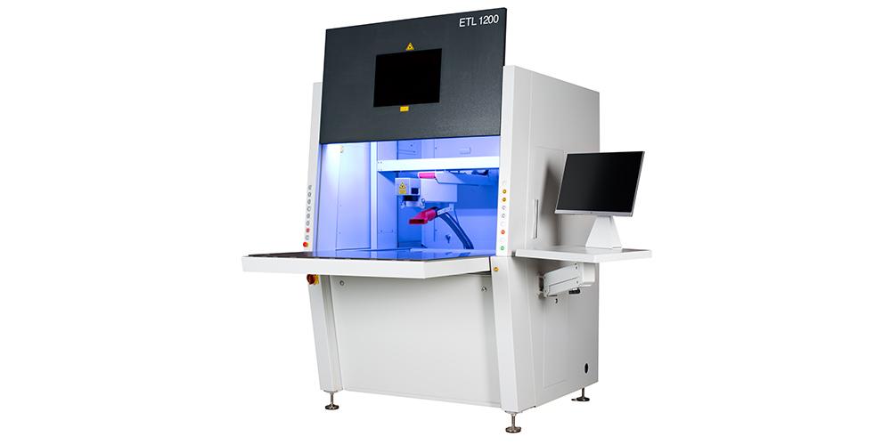 Lasergravursystem mit Faserlaser von EVOTECH - ETL 1200