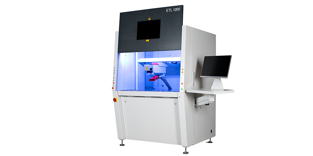 ETL 1200 von EVOTECH - Lasersgravursystem mit Faserlaser