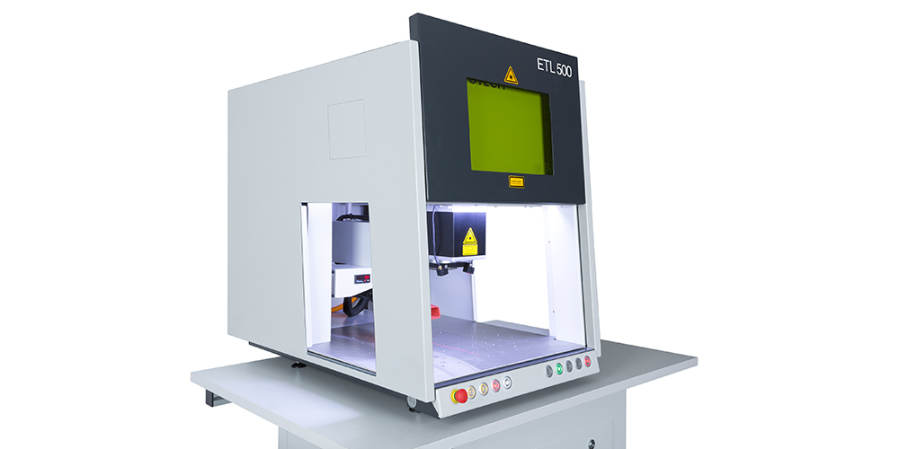 Laserbeschriftung ETL 500 von Evotech