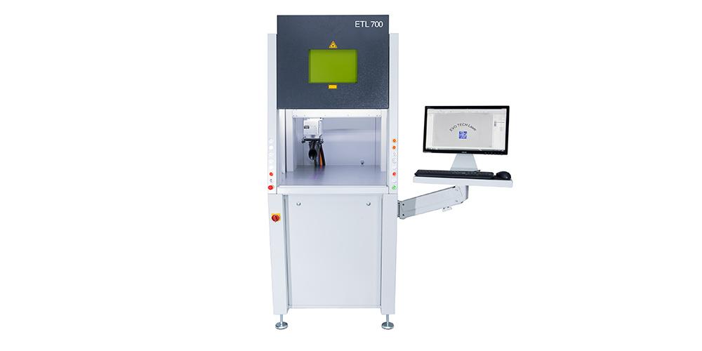 Laserbeschriftungssystem ETL 700 von EVOTECH