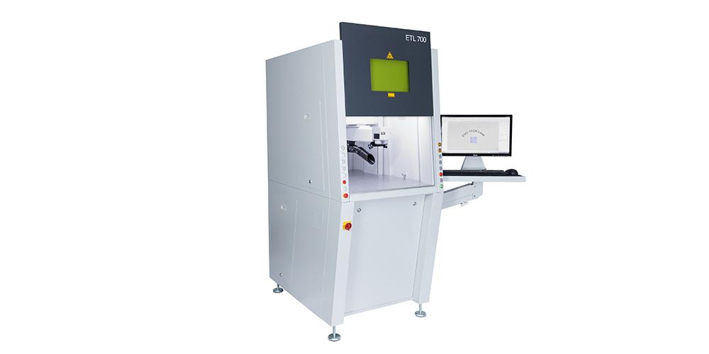 Lasergravurmaschine ETL 700 von EVOTECH