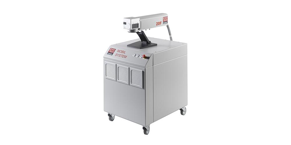 Mobilsystem 20F von EVOTECH Laserbeschriftungssysteme