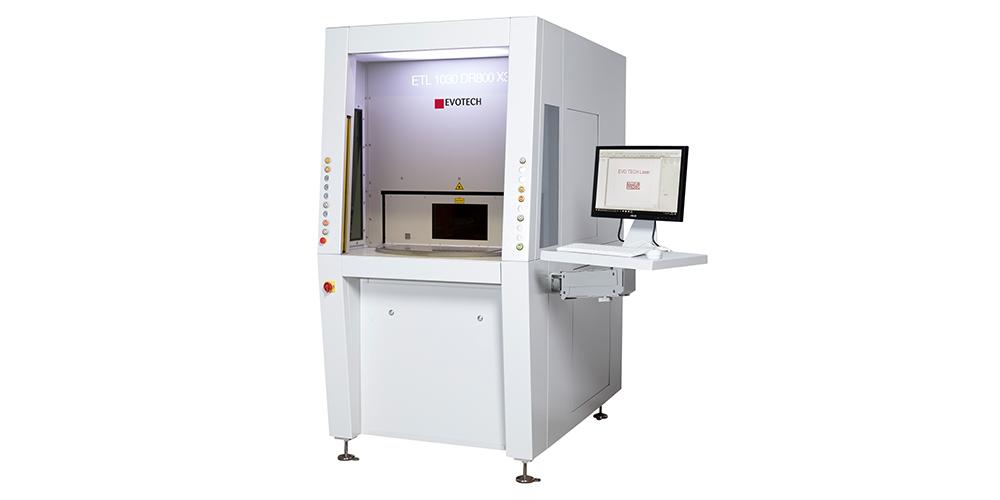 Laserbeschriftung als Sondermaschine von EVOTECH