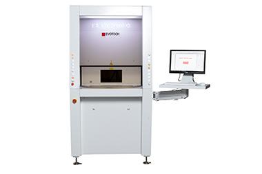 Sondermaschine zur Laserbeschriftung von EVOTECH mit Markiersoftware